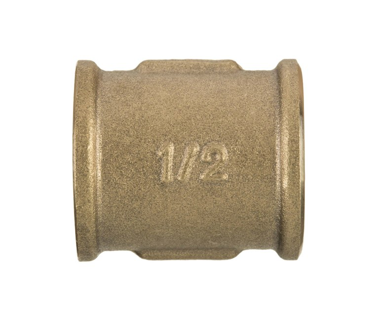 1 Inch Pipe Muff Fittings Female x Female Brass Joint Union