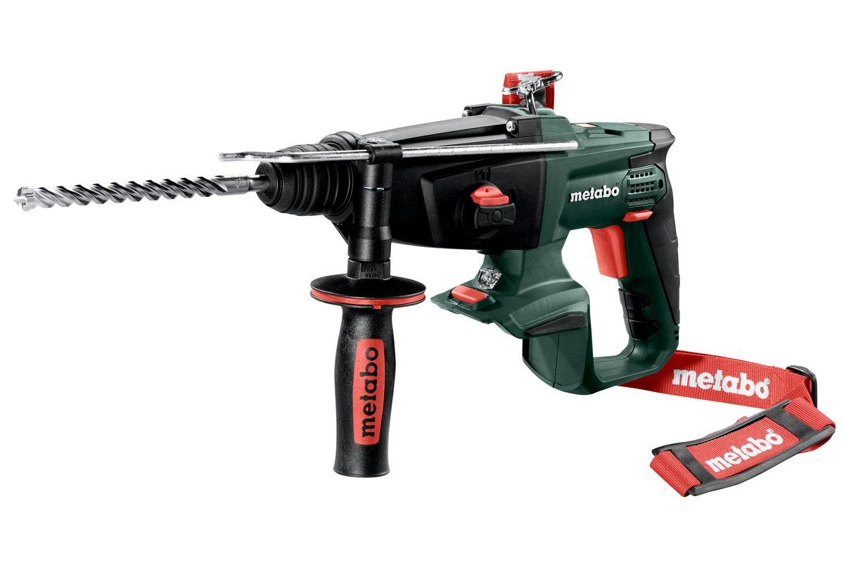 Metabo KHA 18 LTX 3 Function SDS Hammer Drill Body Only With MetaLoc Case