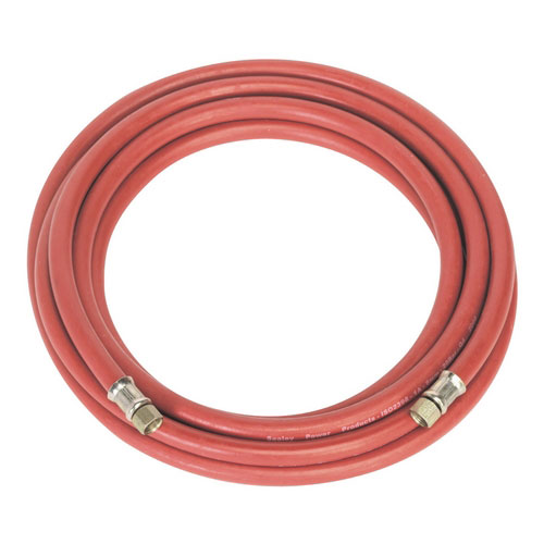 Sealey AHC5 5mtr X Diameter 8mm Air Hose With 1/4inchBSP Unions