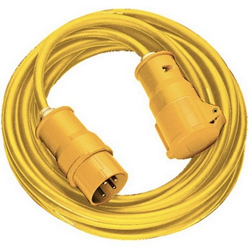 Brennenstuhl 1166463 Extension Lead 14 Metre 110V 16 Amp 1.5mm Thick Yellow