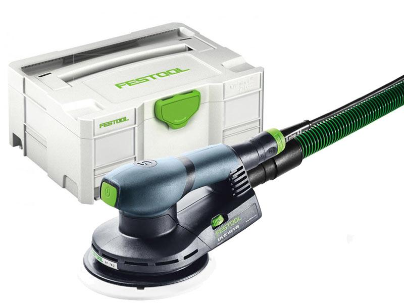 Festool 576332 240v Eccentric Sander 150mm With Systainer SYS 2 T-LOC - ETS EC 150/5 EQ-Plus