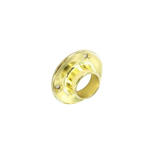 Securit S5557 End Sockets Brass Plated 19mm Pack Of 2