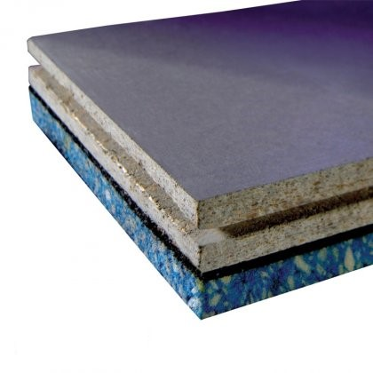 JCW Acoustic Deck 37 Cement Particle Direct to Joist Board (1200mm x 600mm x 37mm) - Pack of 40 (28.8m2)