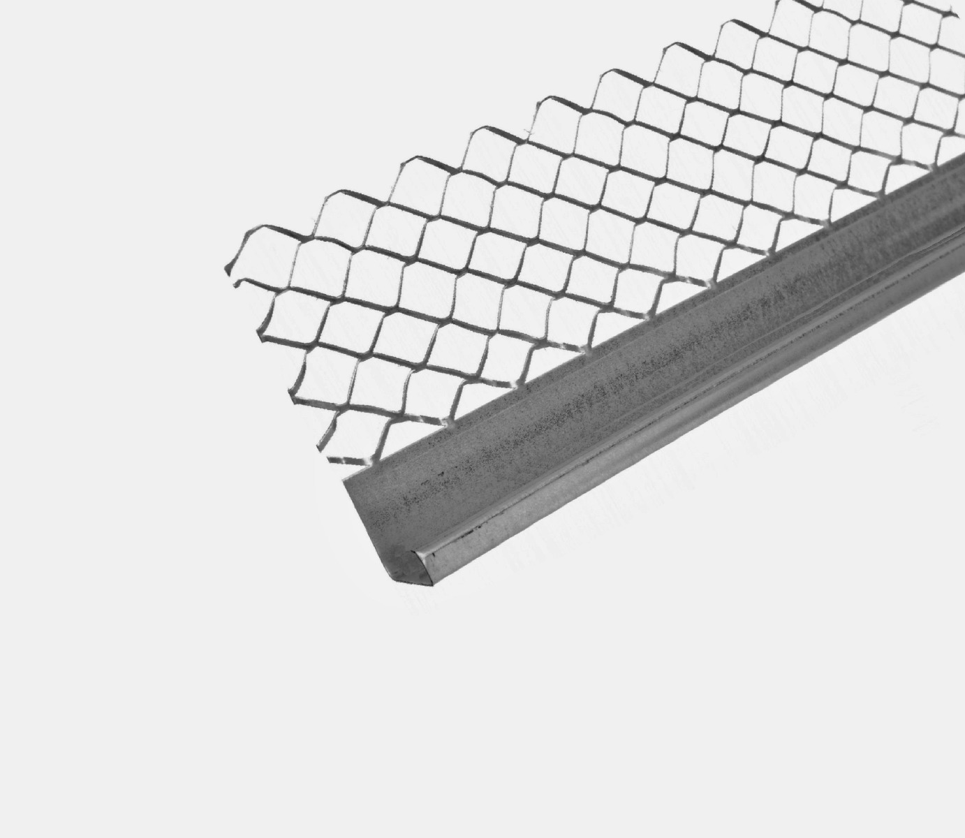 Stainless Steel Plaster Stop Bead 3000mm (19mm) Pack of 25