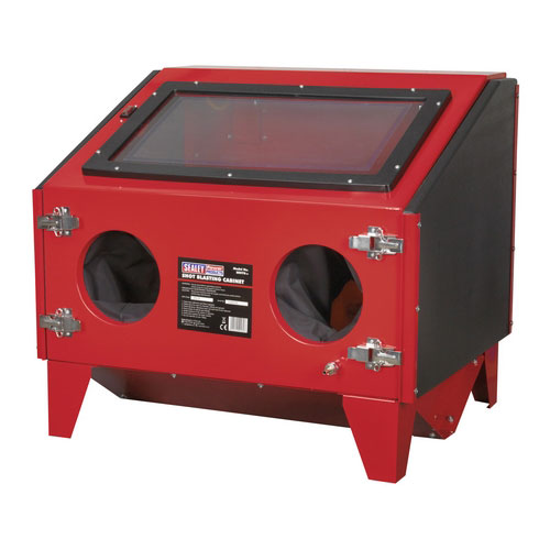 Sealey SB970 Shot Blasting Cabinet With Gun - Double Access