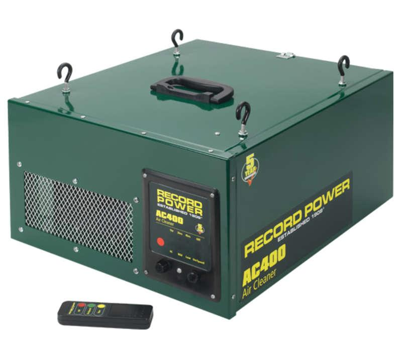 Record AC400 Two Stage Air Filter With Remote And 3 Speeds