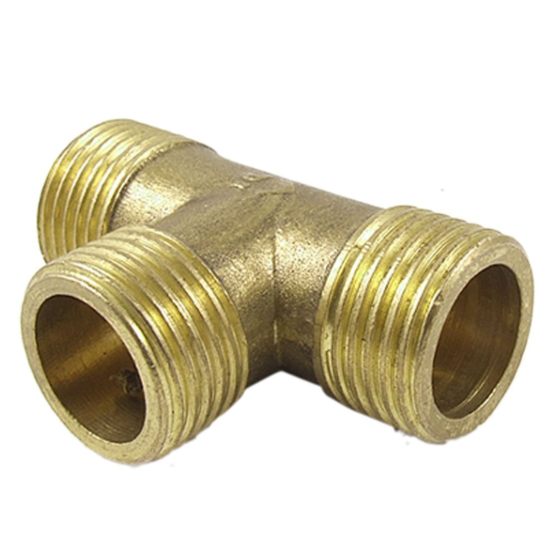1/2 Inch Pipe Tee Male Adapter Connector Fittings Brass