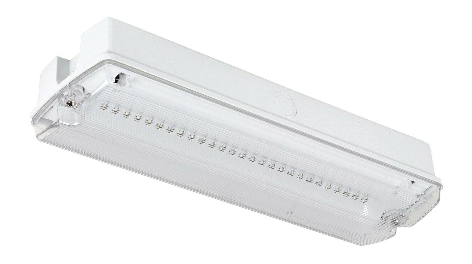 IP65 LED Emergency Light Fitting Bulkhead - Maintained or Non-Maintained