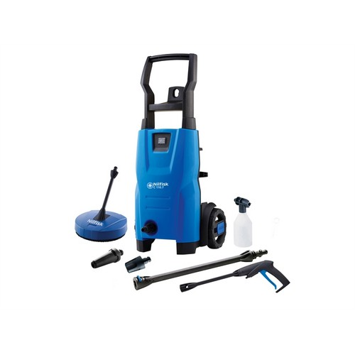 Kew Nilfisk Alto 128471001 C110.7-5 PCA X-TRA Pressure Washer With Patio Cleaner 110 Bar 240 Volt