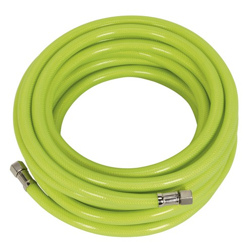 Sealey AHFC20 Air Hose High Visibility 20mtr X 8mm With 1/4inchBSP Unions