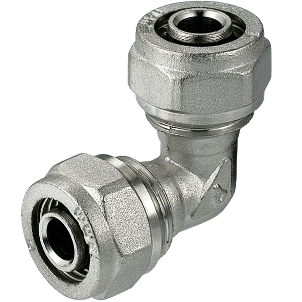 25mm Elbow PEX Compression Fittings Pipe Connector