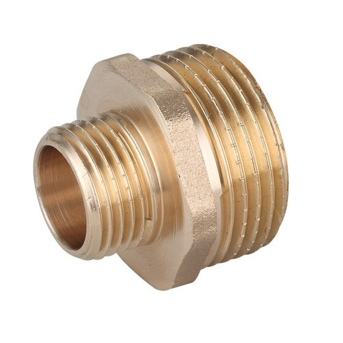 1x3/4 Inch Pipe Thread Reducer Nipple Male Thread Brass Fittings Reduction
