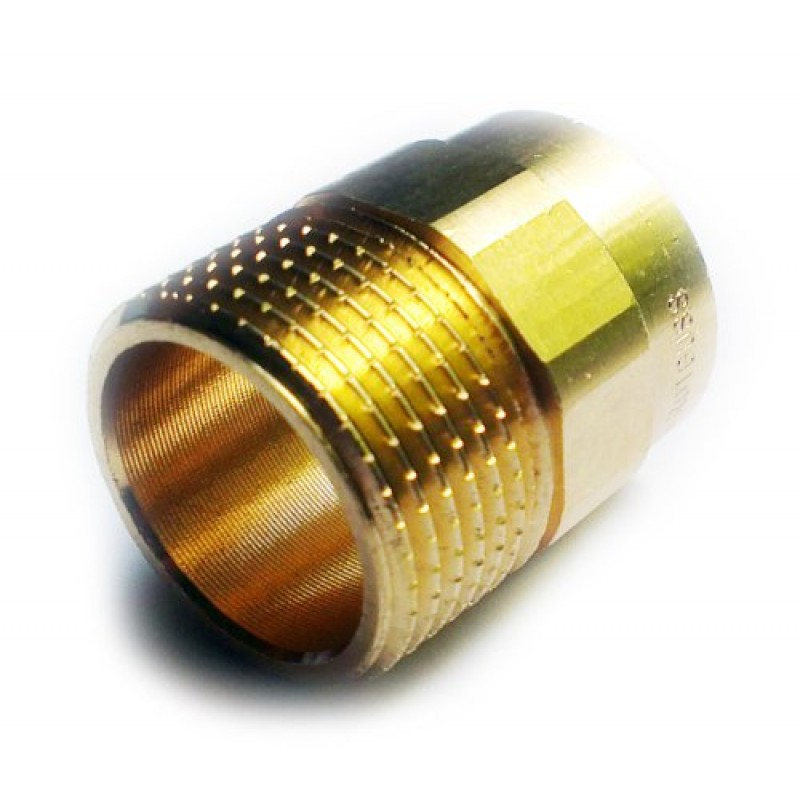 22mm x 3/4 Inch Male Copper Pipe Plumbing Fittings Soldering Connector Brass