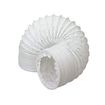 Easipipe Round Ventilation Duct Flexible PVC Hose - 125mm x 6mtr