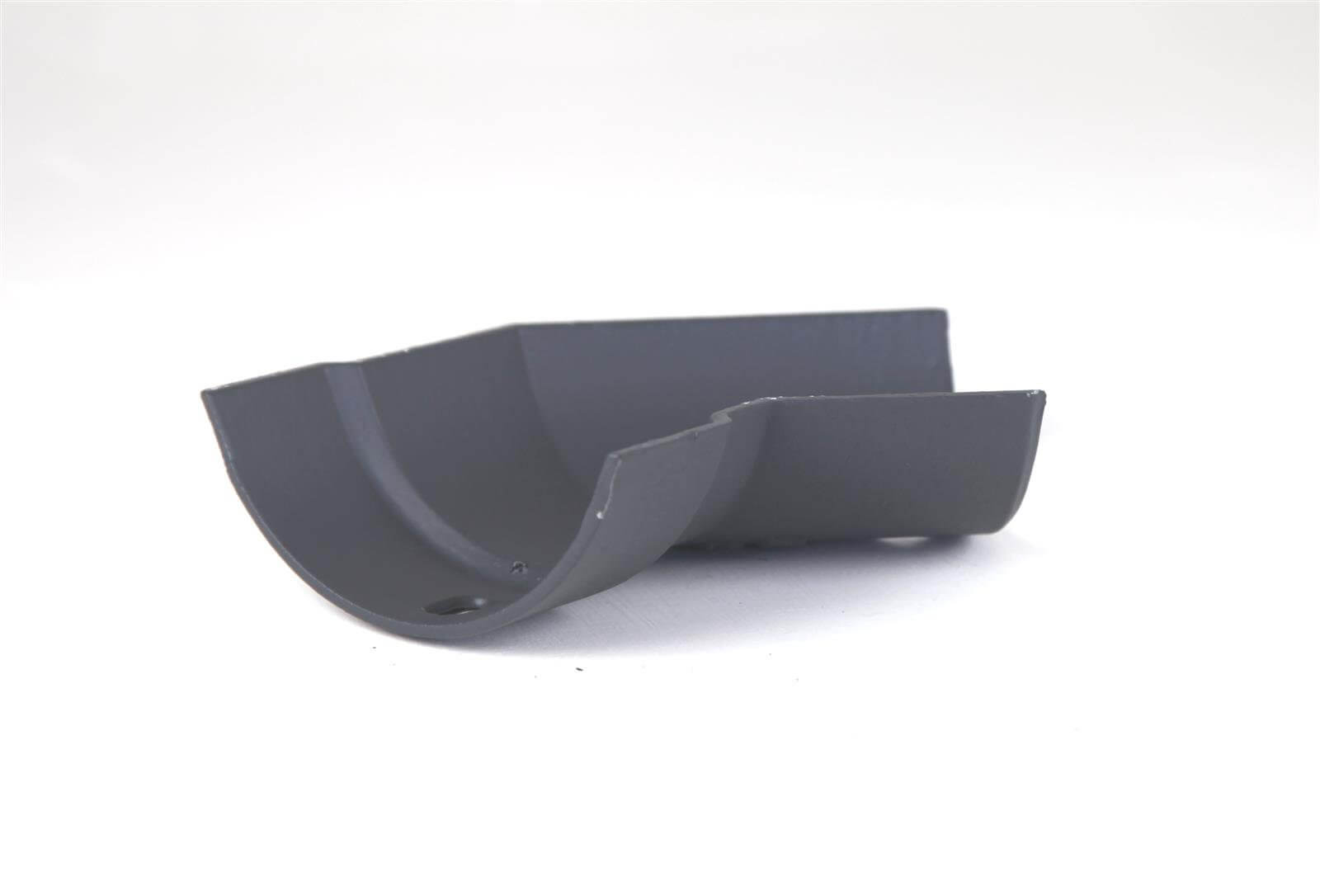 Cast Iron Half Round Gutter Right Hand Angle - 135 Degree x 125mm Primed
