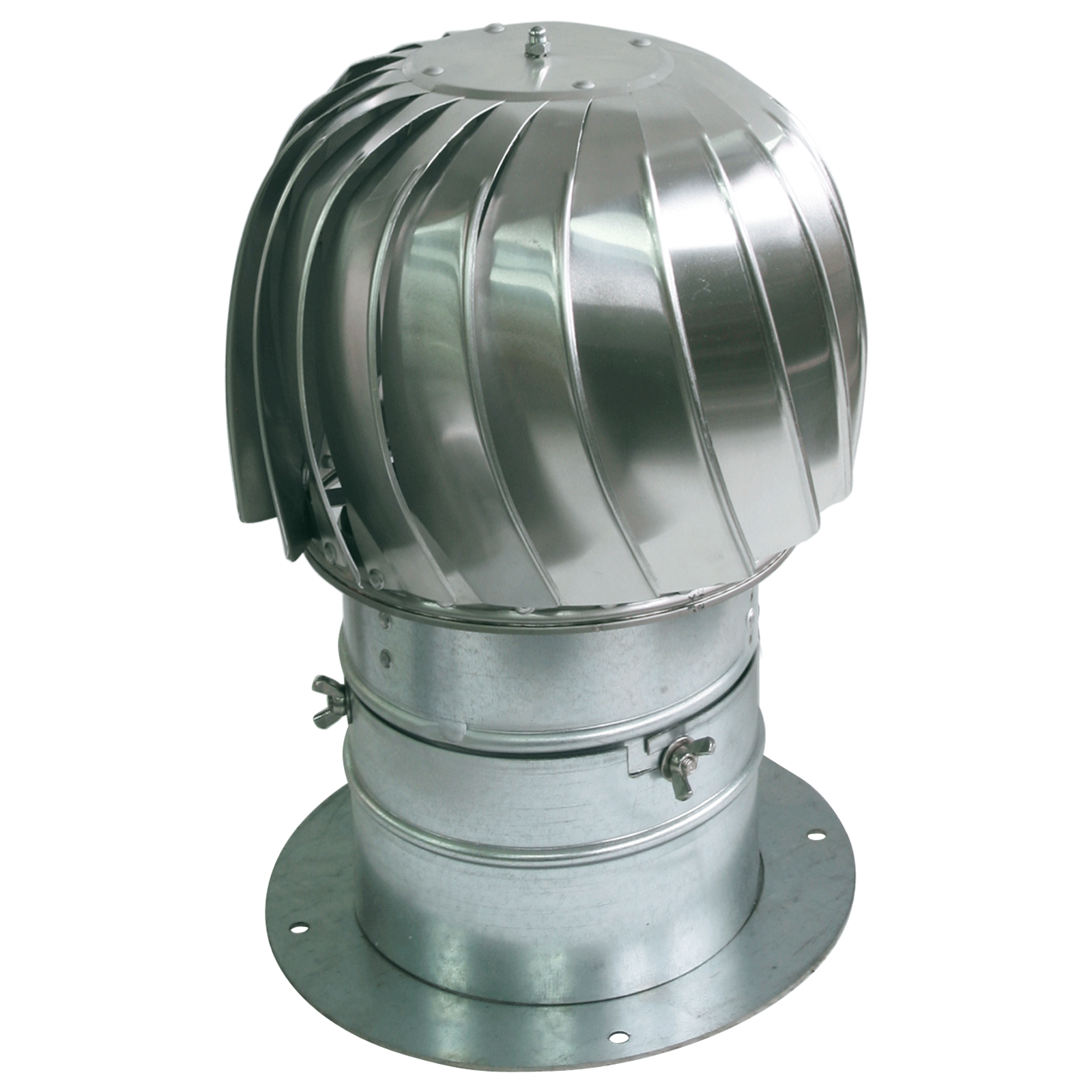 500mm Spinning Chimney Cowl With Collar Aluminum Ventilation