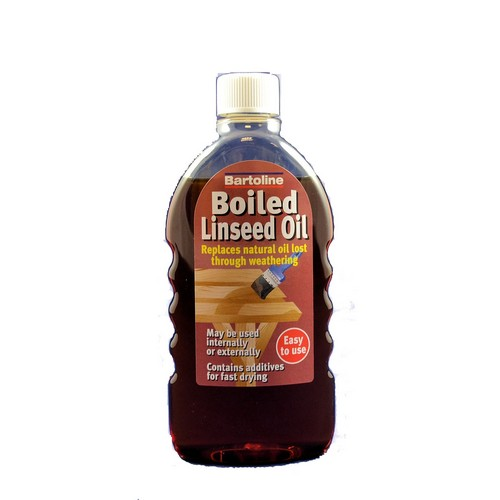 Bartoline 26464940 Boiled Linseed Oil 500ml