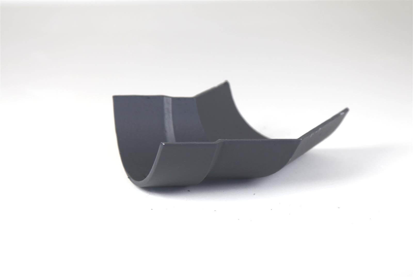 Cast Iron Half Round Gutter Left Hand Angle - 135 Degree x 100mm Primed