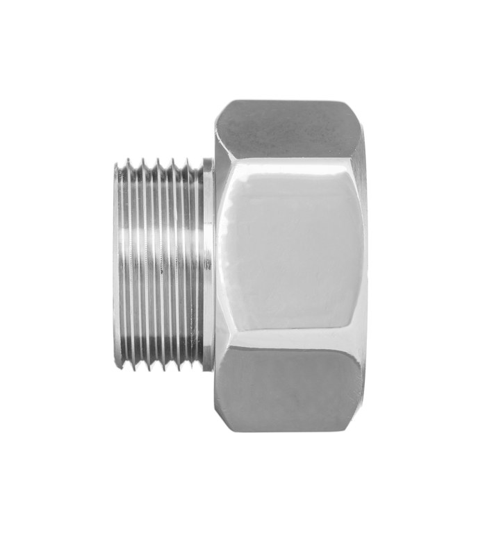 3/4x1/2 Inch Pipe Connection Female x Male Reduction Fittings Chrome