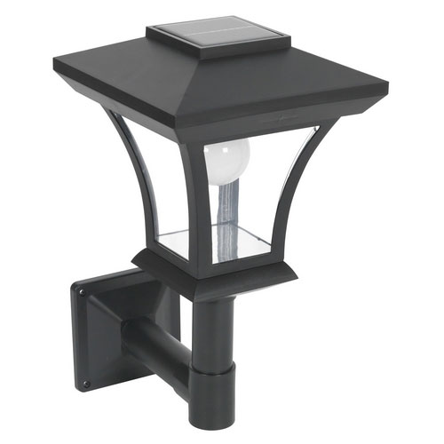 Sealey GL61 Wall Mounting LED Solar Powered Garden Lamp