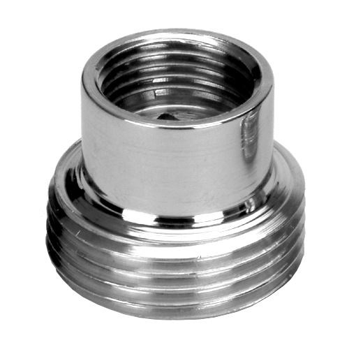 3/4x3/8 Inch Pipe Thread Reduction Male x Female Adaptor Fittings Chrome