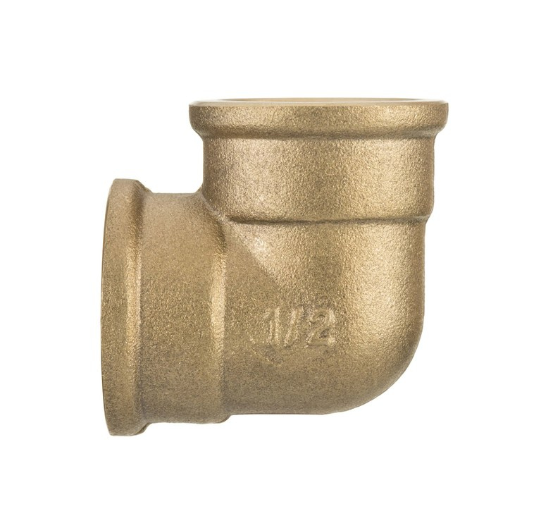 1 Inch Elbow Pipe Fittings Connection Female x Female Iron Cast Brass