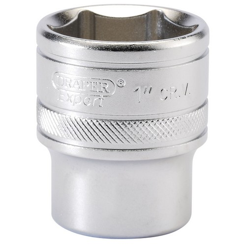 Draper 16634 1/2inch Square Drive 6 Point Imperial Socket (1inch)