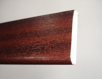 PVC Architrave - 45mm x 5mtr Rosewood