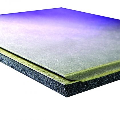 JCW Acoustic Deck 19 MDF Overlay Board (1200mm x 600mm x 19mm) - Pack of 100 (72m2)