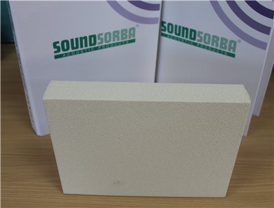 CLOUDSORBA™  Fabric Acoustic Panel 1200mm x 2400mm x 40mm Rectangle (2.88m2)