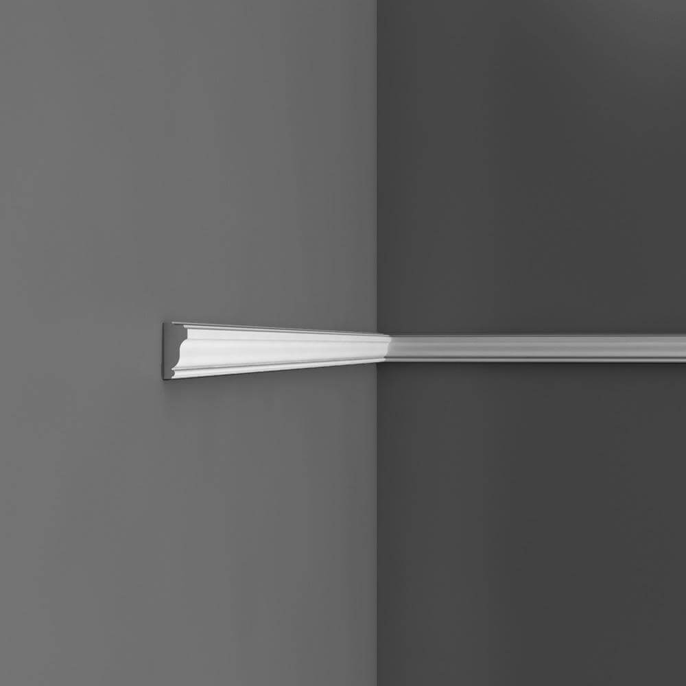 Panel Moulding Axxent Collection - 2000mm x 35mm x 15mm White