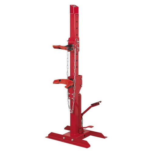 Sealey RE2311 Coil Spring Compressing Station With Gauge Hydraulic 2000kg Capacity