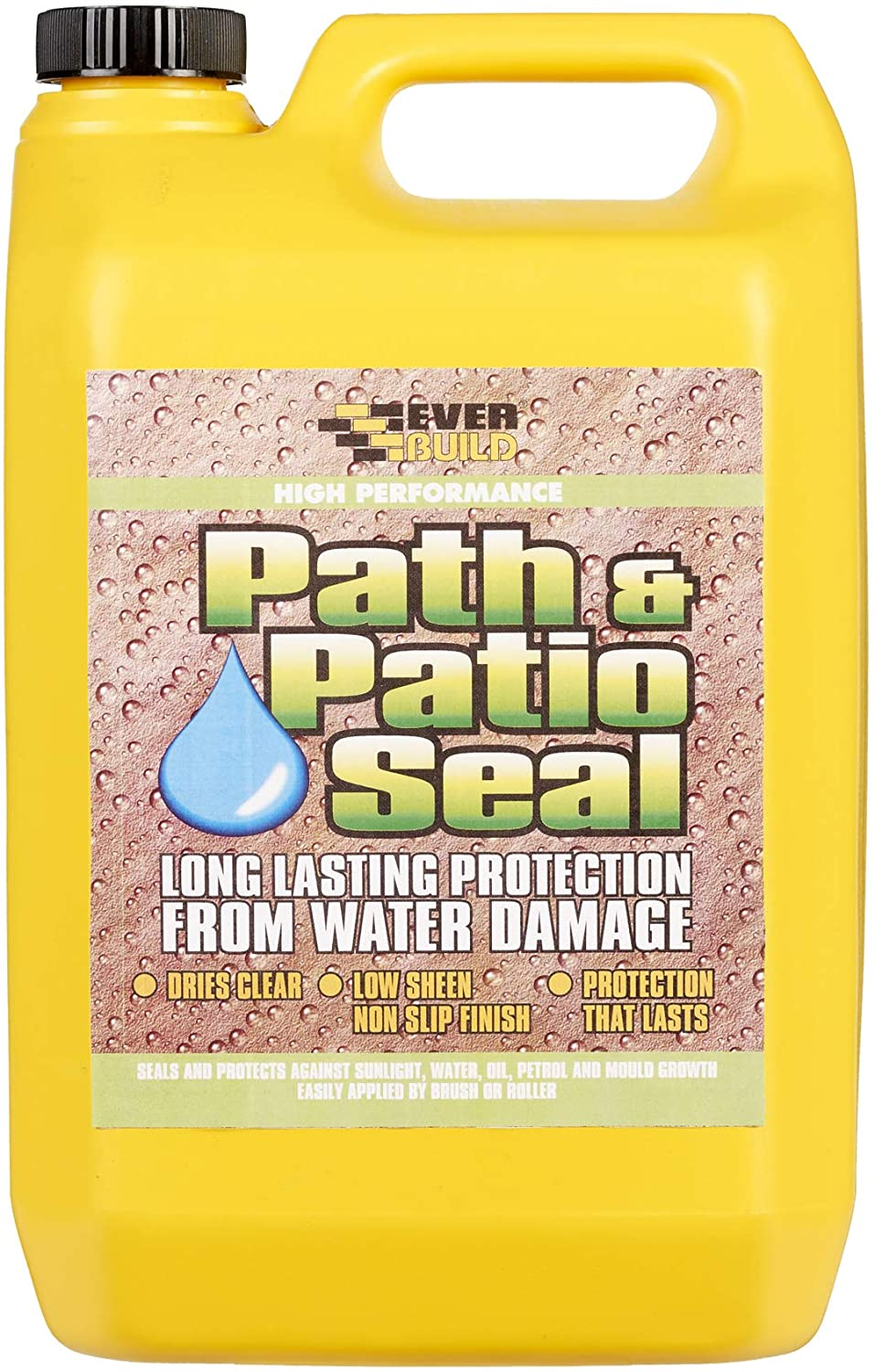 Everbuild 405 Path & Patio Seal Path and Patio, Clear, 5 Litre