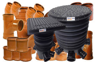 Site Starter Pack Including Inspection Chambers - 110mm Large