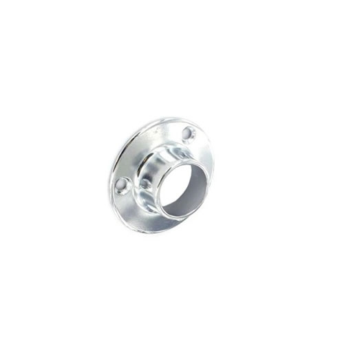 Securit S5562 End Sockets Chrome Plated 25mm Pack Of 2