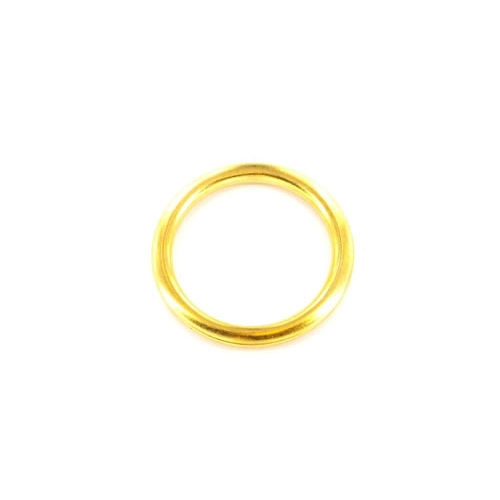 Securit S6425 Curtain Rings Brass 25mm Pack Of 12