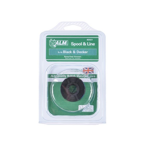 ALM Manufacturing BD031 BD031 Spool & Line To Fit Black & Decker Trimmers A6053