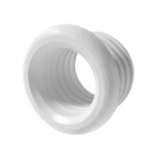 40x32mm Drain Pipe Reducer Rubber Connector Pushfit Waste Adapter White Reduction