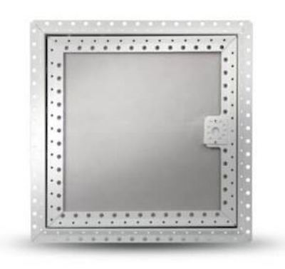 Fire Rated Wall Access Panel Plasterboard Door/Beaded Frame 600mm x 300mm (0.18m2)
