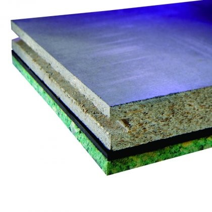 JCW Acoustic Deck 34 Cement Particle Overlay Board (2400mm x 600mm x 34mm) - Pack of 50 (72m2)