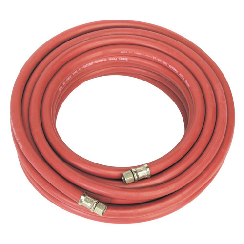 Sealey AHC15 15mtr X Diameter 8mm Air Hose With 1/4inchBSP Unions