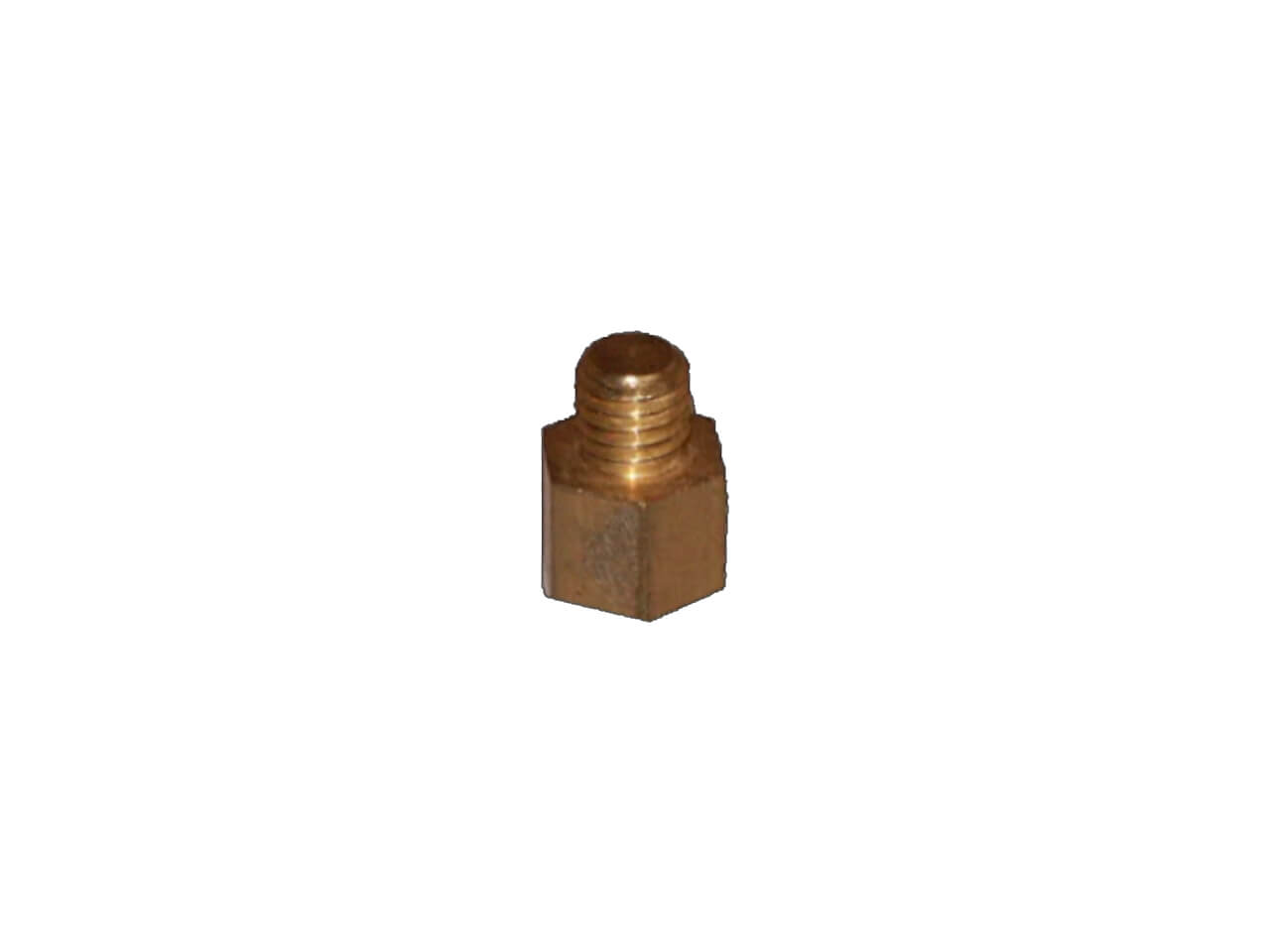 Copper and Zinc Gutter Extension For Downpipe Clip - 1cm