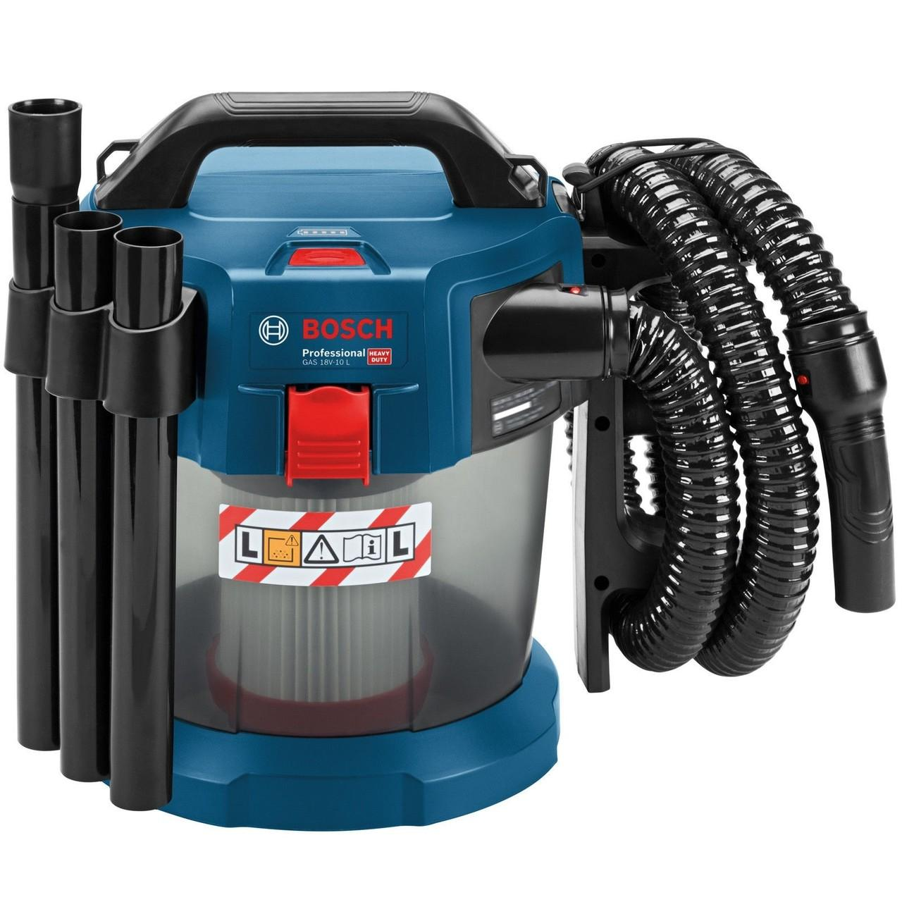 Bosch GAS 18 V-10 L Professional Cordless Wet/Dry Dust Extractor Vacuum Cleaner Body Only