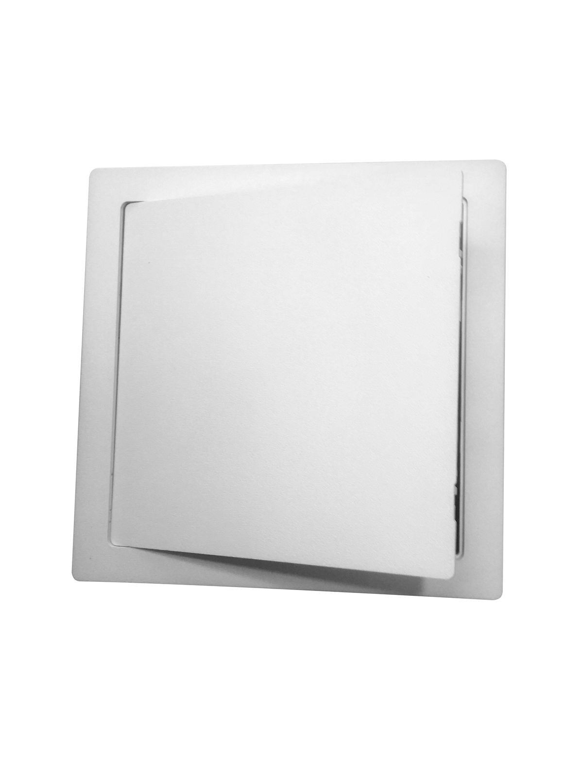 White Plastic Access Panel Inspection Hatch Revision Door All Sizes - 100mm x 150mm (4x6