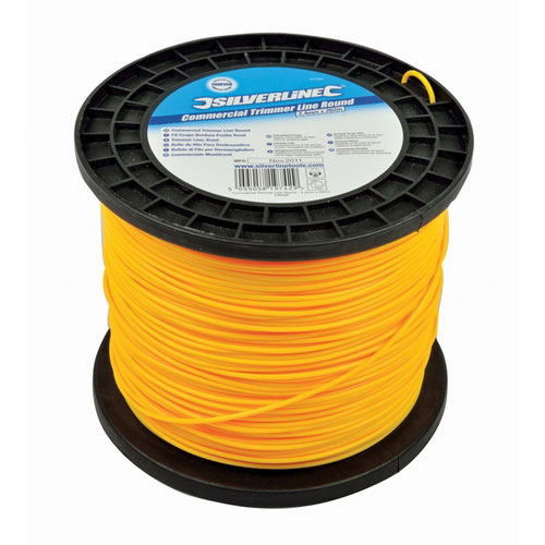 Silverline 245098 Commercial Trimmer Line Round 2.4mm X 262m