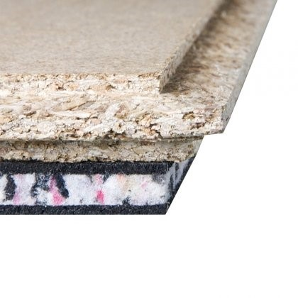 JCW Acoustic Deck 37C Cement Particle Direct to Joist Board (2400mm x 600mm x 37mm) - Pack of 50 (72m2)