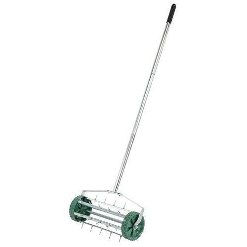 Draper 83983 Rolling Lawn Aerator (450mm Spiked Drum)