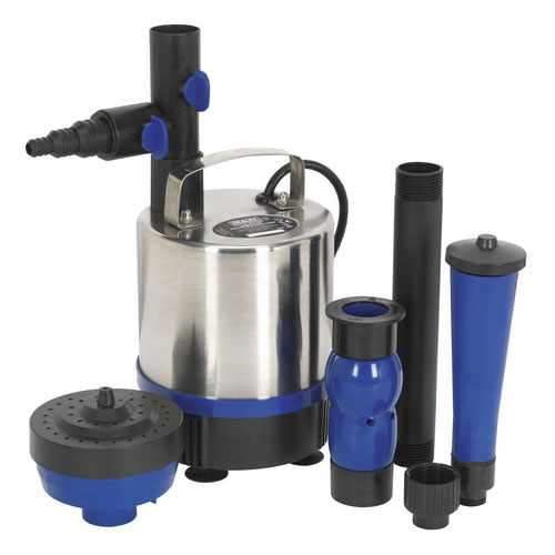 Sealey WPP3000S Submersible Pond Pump Stainless Steel 3000ltr/hr 230V