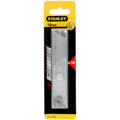 18MM SNAP OFF BLADES (10 PACK)