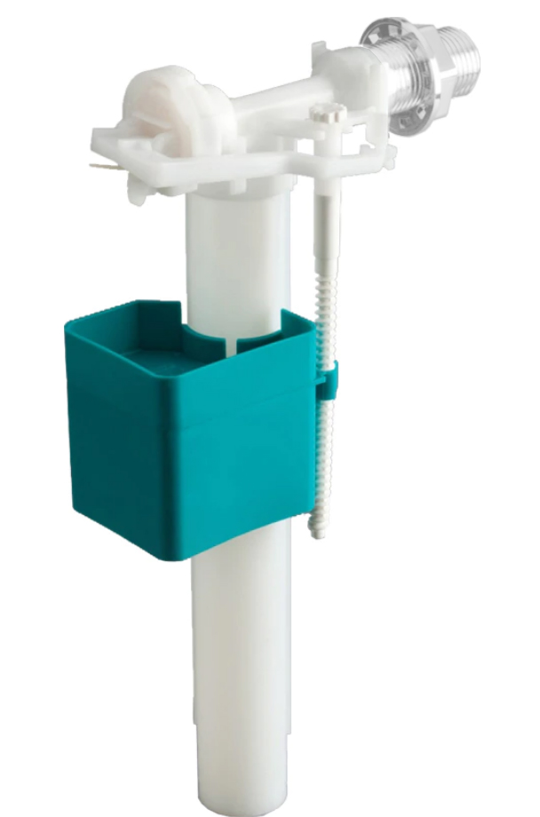 1/2 Inch Side Feed WC Toilet Cistern Inlet Flush Plastic Valve
